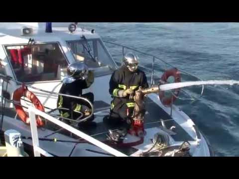 Le bateau école de la Province: un outil pour les pompiers de Paris!