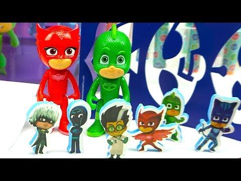Герои в масках набор для детского творчества распаковка - DomaVideo.Ru
