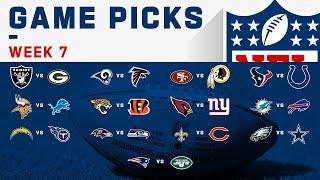 Week 7 Game Picks! | NFL 2019 by NFL