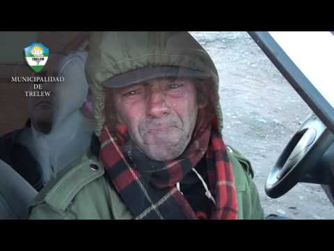 Una ayuda para hombre sin hogar
