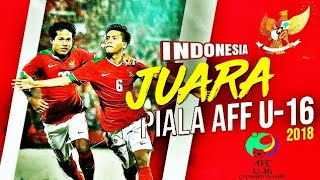 Video Indonesia vs Thailand (Penalti) Final U16 Champion_2018 MP3, 3GP, MP4, WEBM, AVI, FLV Desember 2018