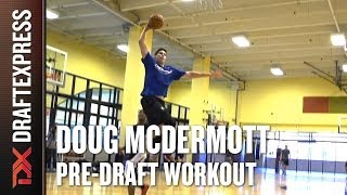 Doug McDermott Pre-Draft Workout and Interview with DraftExpress