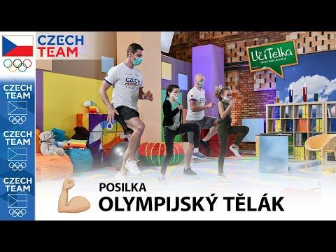 UčíTelka: Olympijský tělák - Posilka