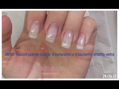 nail art - refill più ricostruzione unghie