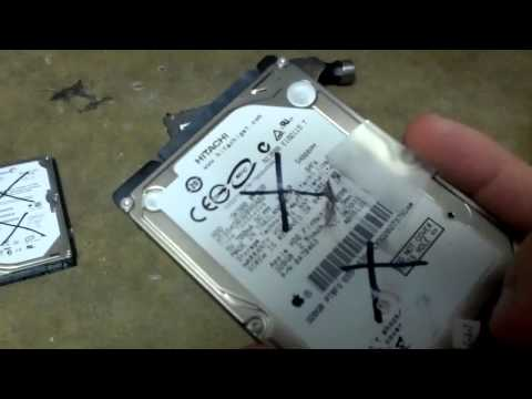How to destroy a hard drive (quick and dirty way)