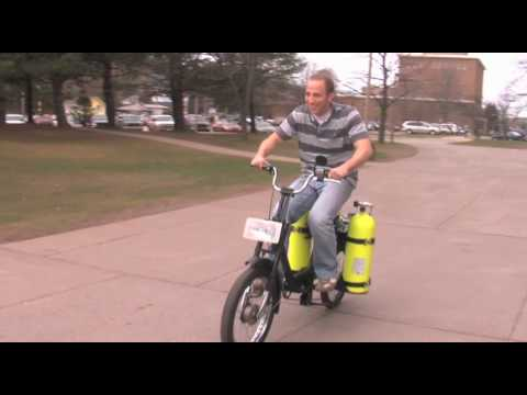 Air-Driven Moped