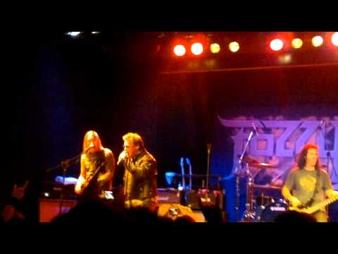 underblackened - Fozzy - Under Blackened Skies live @ The Factory, Sydney 3-12-10. This is the first video I've taken with the new Nokia N8.