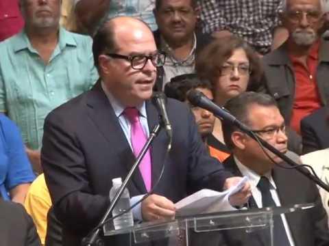 Julio Borges: Este próximo 16J que el pueblo decida