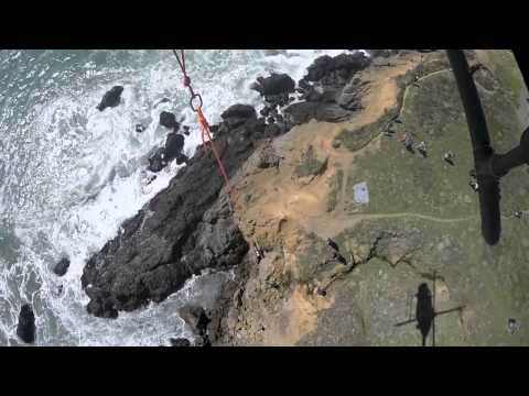 Dog Rescued From Seaside Cliff in Sonoma County