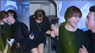 Trấn Thành – Hari Won tiếp tục 'dính chặt nhau' khi quảng bá phim tại Hà Nội