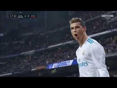 Real Madrid vs Real Sociedad 5-2 - All Goals & Highlights - La Liga 10/2/2018 HD