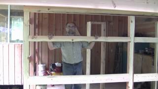 How To Build a Workshop Addition Part Three