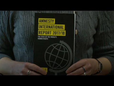 Amnesty accuses President Trump of human rights violations