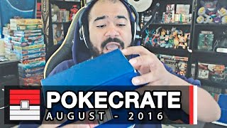 PokeCrate #28 - August 2016 by King Nappy