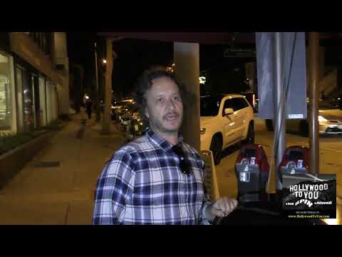 Pauly Shore talks about the show I'm Dying Up Here outside Craig's Restaurant in West Hollywood