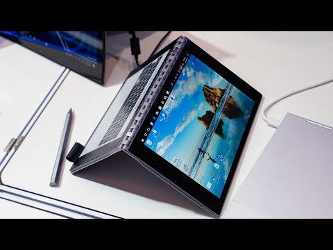 Intel Tiger Rapids - ein Dual Display Tablet mit Stif ...