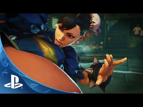 Street Fighter V'in yeni dövüş sistemi