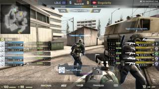 LDLC vs Singularity - Farmskins Championship #1 - map2 - de_overpass [Deq]