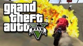 GTA 5 - Stupid Checkpoints and Crazy Drag Races! (GTA 5 Custom Races and Funny Moments!)