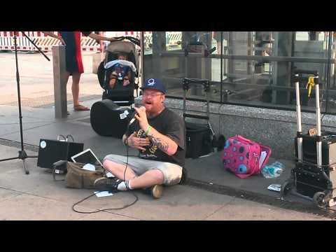 INFIDELIX: street music Berlin Alexanderplatz 2015