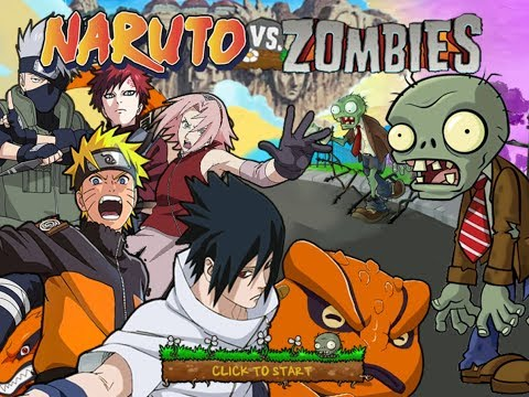 Plants vs Zombies Mod Naruto VS Zombies - Gameplay