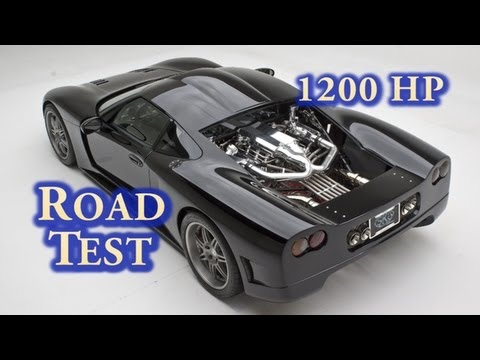 NRE Drives 1200 HP Factory Five GTM.  Street Test.  427CI LSX. Nelson Racing Engines. Mirror Turbo.