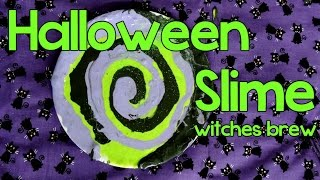Halloween Slime : Witches Brew - YouTube