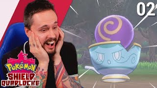 HERE'S THE MF'ing TEA! | Pokemon Shield Quadlocke Part 02 by Ace Trainer Liam