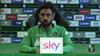 Sassuolo, Magnanelli in vista della gara col Benevento