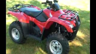 10. 2010 Honda Rancher AT FourTrax TRX 420 Walk Around