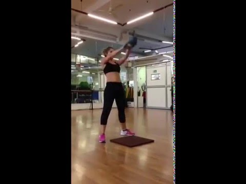 VIDEO. Burpees por Eva Sanchis #entrenamiento