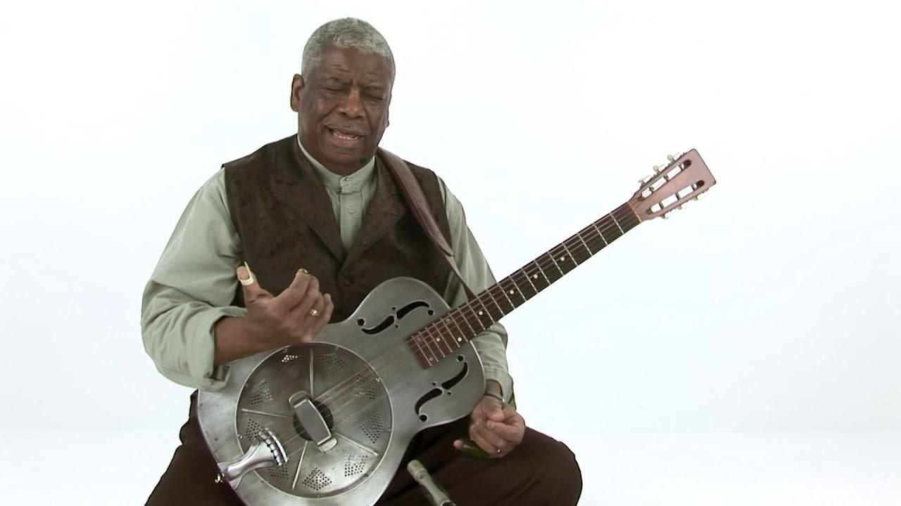 Blues Guitar Lesson – Slide, Resonator, and Open Tunings – Rev. Robert Jones