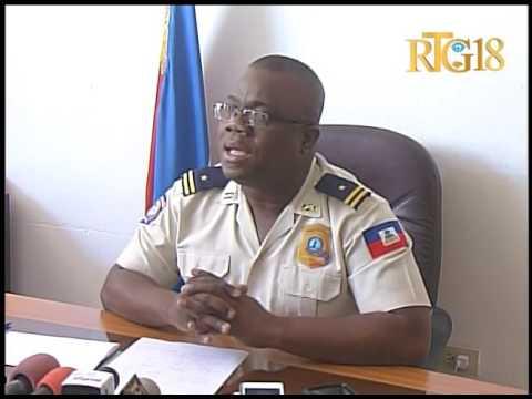 Police Nationale d'Haïti / Conférence de presse