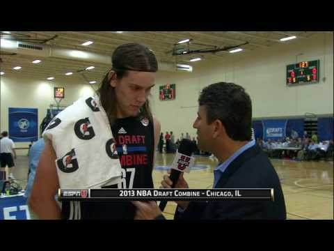 draft - Check out 7 foot center Kelly Olynyk working out and speaking to the media at the 2013 Draft Combine! Catch all the Combine coverage on ESPNU/ESPN 2 Thursday...
