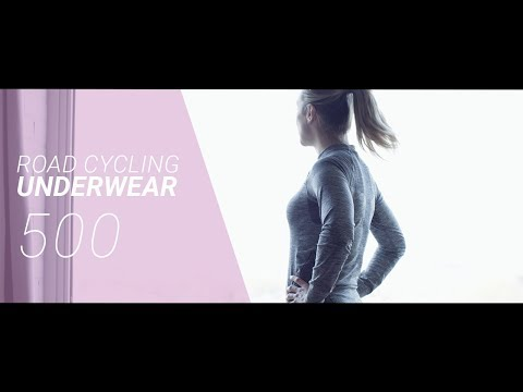 ROAD CYCLING WOMEN COLD WEATHER UNDERWEAR 500 // VELO ROUTE SOUS VETEMENT FEMME HIVER 500