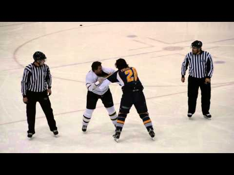 Canadian hockey fight