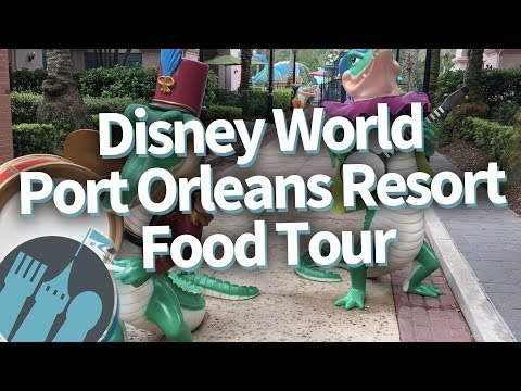 Disney World Food Tour: What To EAT And What To SKIP At Port Orleans Resort!