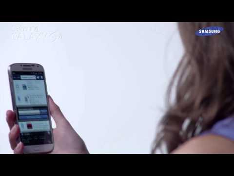 Samsung Galaxy S4 - prezentacja funkcji Inteligentne przewijanie