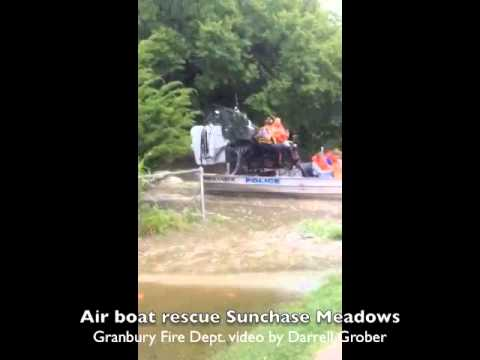 Airboat rescue