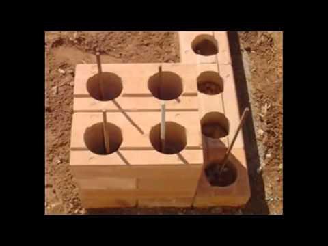 Sistema constructivo ecol�gico modular TECNOBRICKS