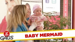 My Baby is a Merman Prank, Just for laughs, Just for laughs gags, Just for laughs 2015