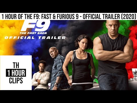 1 Hour of the F9: Fast & Furious 9 - Official Trailer (2020)