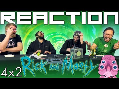 "Rick and Morty 4x2 REACTION!! ""The Old Man and the Seat"""