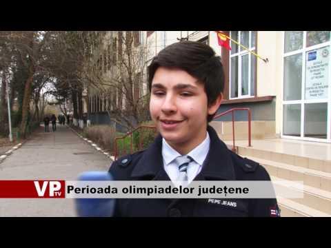 Perioada olimpiadelor județene