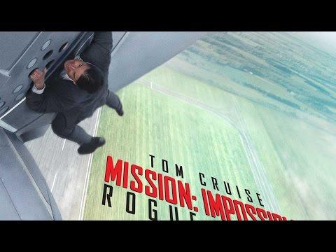 톰 크루즈 주연작 '미션 임파서블5' 예고편(Mission: Impossible Rogue Nation Official Teaser Trailer - Tom Cruise