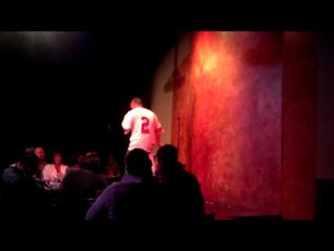 Comedian Kevin Alan at the Funny Bone Comedy Club in Perrysburg, Ohio