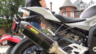 10. 2014 BMW S1000R Akrapovic Evolution Full Titanium Exhaust System