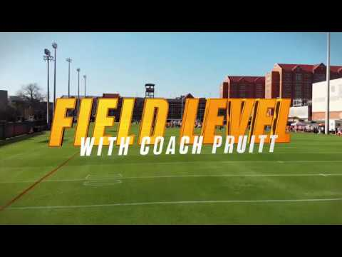 Tennessee Football   Jeremy Pruitt Field Level