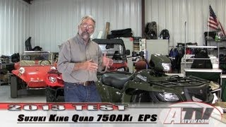 10. ATV Television - 2013 Suzuki King Quad 750AXi EPS Test