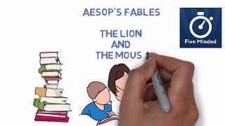 """A great fable by aesop teaching children about being important and that nobody is ever too small to be of help.Get the Aesop's Fables for Kids BOOK: http://amzn.to/2l0nMzjWhiteboard Software I use to make my Videos: http://www.sparkol.com?aid=983244Facebook: https://www.facebook.com/5ivemindedTwitter: https://twitter.com/fiveminded-~-~~-~~~-~~-~-Please watch: """"The History of Earth Day - Animated Narration for Kids"""" https://www.youtube.com/watch?v=b6LUaGy1ChA-~-~~-~~~-~~-~-"""